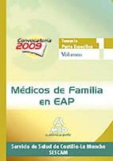 Eldeportedealbacete.es Medicos De Familia En Eap Del Servicio De Salud De Castilla-la Ma Ncha (Sescam). Temario Parte Especifica. Volumen I Image