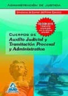 Debatecd.mx Cuerpo De Auxilio Judicial Y Cuerpo De Tramitacion Procesal Y Adm Inistracion De Justicia. Simulacros De Examen Del Primer Ejercicio Image