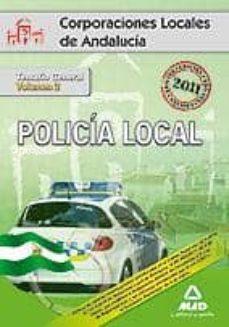 Inmaswan.es Policia Local De Andalucia. Temario General. Volumen Ii Image