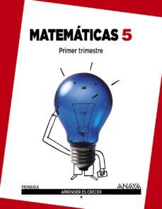 matemáticas 5.-9788467864359
