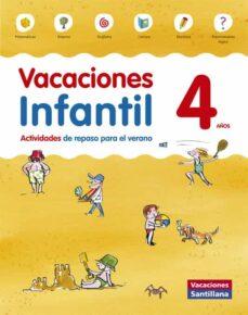 vacaciones 4 años infantil santillana ed 2014-9788468087559