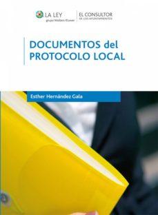 documentos del protocolo local (ebook)-esther hernandez gala-9788470525759