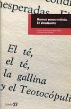 Cdaea.es Rumor Renacentista: El Veintisiete Image
