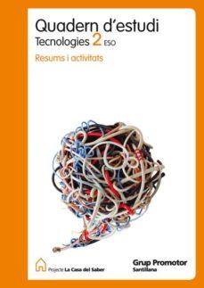 Carreracentenariometro.es 2 Eso Quadern Estudi Tecnologia Catalan Ed 2010 Image