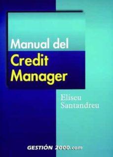 manual del credit manager-eliseu santandreu-9788480887359