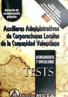 AUXILIARES ADMINISTRATIVOS DE CORPORACIONES LOCALES DE ANDALUCÍA (TESTS) - VV.AA. | Triangledh.org