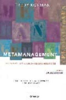 metamanagement: la nueva conciencia de los negocios (t.2): aplica ciones-fredy kofman-9788483580059