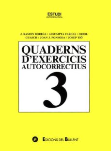 Inmaswan.es Quaderns D Exercicis Autocorrectius 3 (4ª Ed.) Image