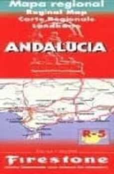 Inmaswan.es Andalucia : Mapa Regional- Reginal Map- Carte Regionales- Landkar Te (1:300000) (Incluye Mapa De Sevilla) Image
