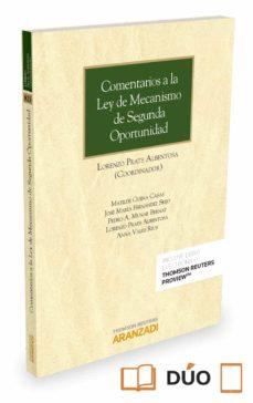 comentarios a la ley de mecanismo de segunda oportunidad-lorenzo prats albentosa-9788491351559