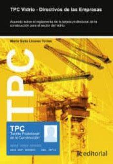 Descargas de libros electrónicos de Amazon para ipad (I.B.D.) TPC VIDRIO - DIRECTIVOS DE LAS EMPRESAS