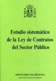 Cdaea.es Estudio Sistematico De La Ley De Contratos Del Sector Publico Image