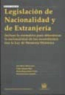 Inmaswan.es Legislacion De Nacionalidad Y De Extranjeria Image
