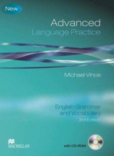 Descargar ADVANCED LANGUAGE PRACTICE : ENGLISH GRAMMAR AND VOCABULARY gratis pdf - leer online
