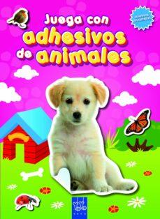 juega con adhesivos de animales. rosa-9788408090069