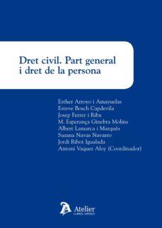 Enmarchaporlobasico.es Dret Civil. Part General I Dret De La Persona Image
