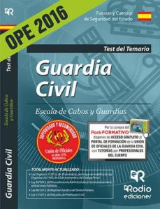 Followusmedia.es Guardia Civil. Escala De Cabos Y Guardias. Test Del Temario (Ed. 2016) (3ª Ed.) Image