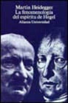 Padella.mx La Fenomenologia Del Espiritu De Hegel (2ª Ed.) Image