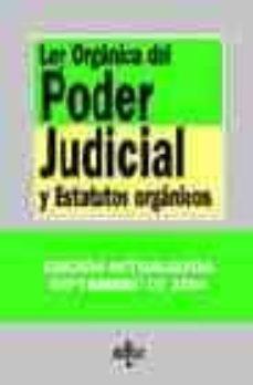 Geekmag.es Ley Organica Del Poder Judicial Y Estatutos Organicos (18ª Ed.) Image