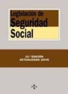 Inmaswan.es Legislacion De Seguridad Social (23ª Ed.) Image
