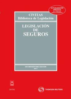Inmaswan.es Legislacion De Seguros (17ª Ed) Image