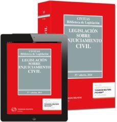 Geekmag.es Legislacion Sobre Enjuiciamiento Civil (37ª Ed.) Image