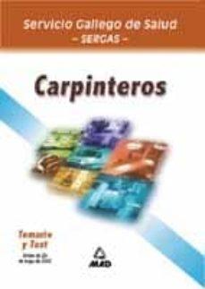 Bressoamisuradi.it Carpinteros Del Servicio Gallego De Salud: Temario Y Test O.p.e. Extraordinaria Image