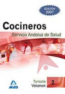 Permacultivo.es Cocineros Del Servicio Andaluz De Salud. Temario Vol.ii Image