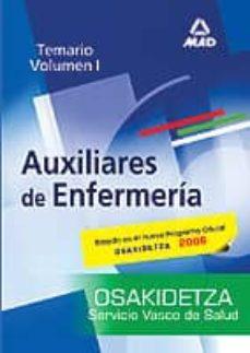 Followusmedia.es Auxiliares De Enfermeria Del Servicio Vasco De Salud-osakidetza: Temario I Image