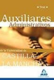 Bressoamisuradi.it Auxiliares Administrativos De La Universidad De Castilla-la Manch A. Test Image