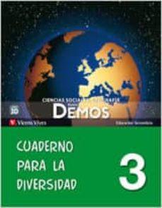Geekmag.es Nuevo Demos 3 Cuaderno Para La Diversidad Tercero Secundaria Image