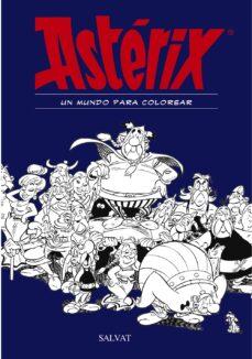 asterix: un mundo para colorear-rene goscinny-9788469606469