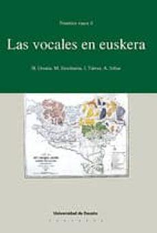 fonetica vasca, 4: las vocales en euskera-9788474854169