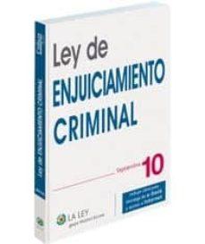 Iguanabus.es Ley De Enjuiciamiento Criminal 2010 + Image
