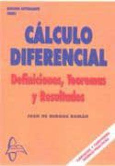 Permacultivo.es Calculo Diferencial: Definiciones Teoremas Resultados (2ª Ed.) Image