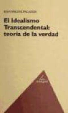 Vinisenzatrucco.it El Idealismo Trascendental: Teoria De La Verdad Image