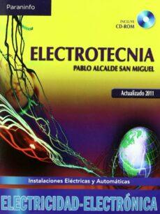 electrotecnia-pablo alcalde san miguel-9788497326469
