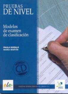 Descargar libros de amazon a nook PRUEBAS DE NIVEL ELE (INCLUYE CD)  in Spanish 9788497784269