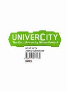 univercity: the eco_univercity genua project-pino scaglione-9788895623269
