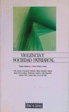 VIOLENCIA Y SOCIEDAD PATRIARCAL - VVAA | Adahalicante.org