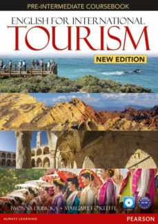 Descargar ebook pdb ENGLISH FOR INTERNATIONAL TOURISM PRE-INTERMEDIATE NEW EDITION COURSEBOOK WITH DVD-ROM (Spanish Edition) 9781447923879  de