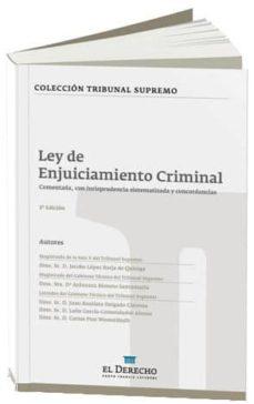 Concursopiedraspreciosas.es Ley De Enjuiciamiento Criminal Comentada (2ª Ed.) Image