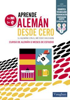 Descargar libros electrónicos en archivos txt APRENDE ALEMAN DESDE CERO 9788416094479 de  en español