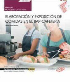 Trailab.it (Mf1049_2) Manual Elaboración Y Exposición De Comidas En El Bar- Caferteria. Certificados De Profesionalidad. Servicios De Bar Ycafeteria (Hotr0508) Image