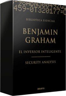 biblioteca esencial benjamin graham (estuche ed. limitada) el inversor inteligente / security analysis-benjamin graham-david l. dodd-9788423426379