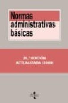 Curiouscongress.es Normas Administrativas Basicas (20ª Ed.) Image
