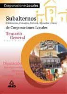 Javiercoterillo.es Subalternos De Corporaciones Locales: Temario General Image