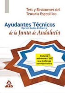 Mrnice.mx Ayudantes Tecnicos De Medio Ambiente De La Junta De Andalucia.tes T Y Resumenes Tema Especifico Image