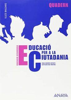 Emprende2020.es Educació Per A La Ciutadania 2. Quadern. Educación Secundaria Obligatoria Primer Ciclo (Illes Balears) Image