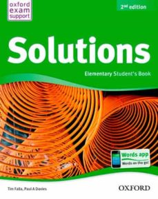 solutions elem student book 2-9788467381979